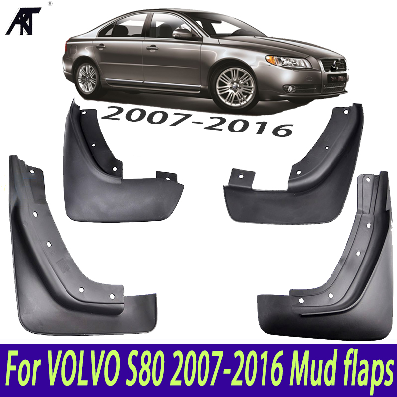 2010 Volvo S80 For Sale: Mudguards Fender Front Rear Set Molded Car Mud Flaps For