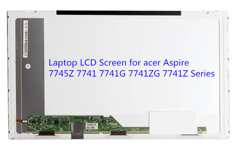 Laptop LCD Screen for acer Aspire 7745Z 7741 7741G 7741ZG 7741Z Series (17.3 inch 1600x900 40pin TK) mbpt50100 motherboard for acer aspire 7741 7741z 7741g 7741zg mb pt501 001 je70 cp 48 4hn01 01m tested good