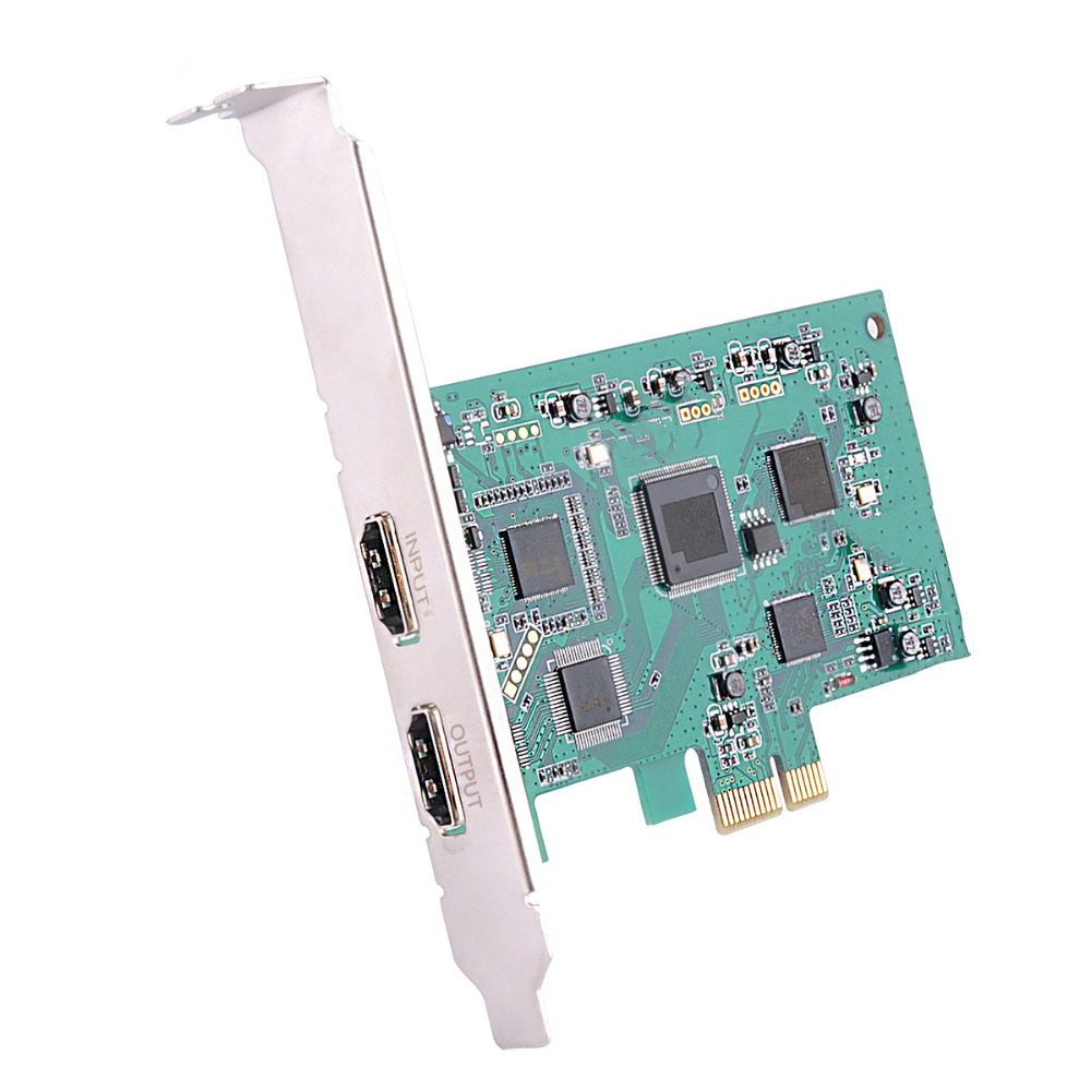 Image 2 - PCI Express HD Video capture Card PCIE 1080P 60FPS HDMI Capture Card vmix wirecast obs game/meeting live broadcast streaming-in Video & TV Tuner Cards from Computer & Office