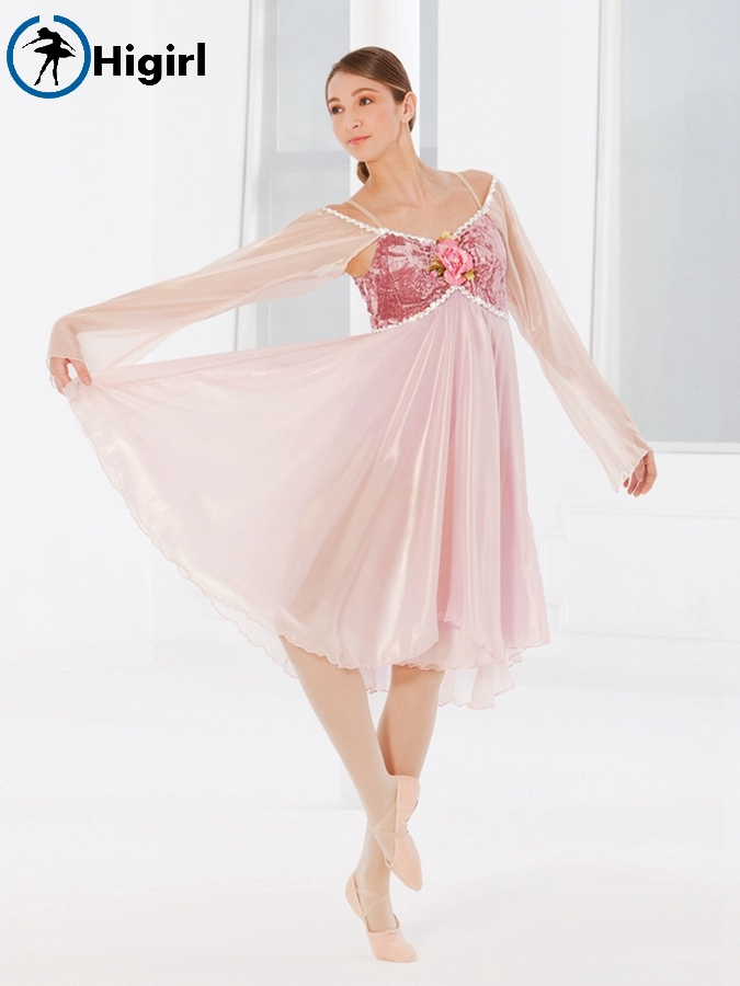 Adult ballet dance costume ballerina dance dress Lyrical & contemporary dance costume girl ballet dress BL0056