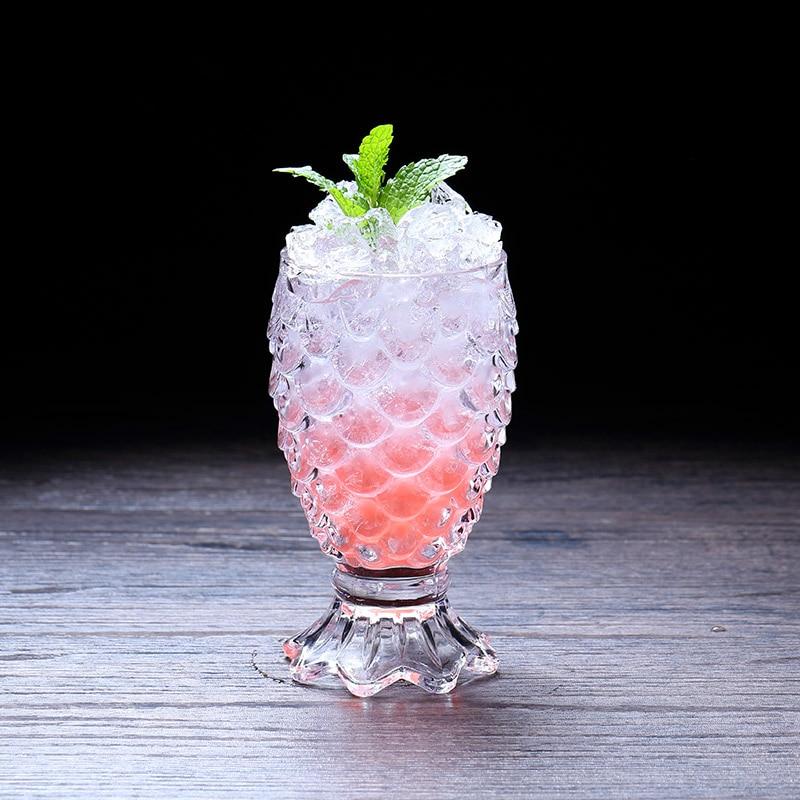 3D échelle de Relief sirène Verre Cocktail verres à vin Bicchieri Vetro Verre Whisky Chivas Xicaras bière ananas tasse Copo Caveira