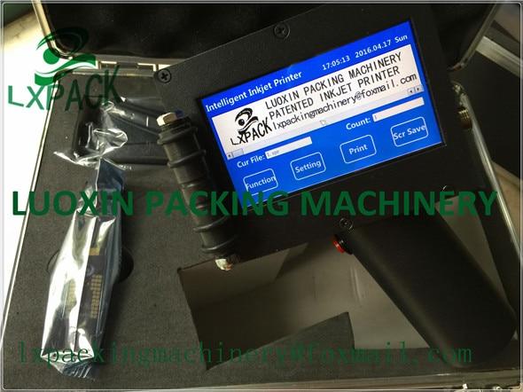 LX-PACK El precio de fábrica más bajo máquina de codificación manual máquina de impresión de tubos de plástico consumibles de impresora de etiquetas de mano