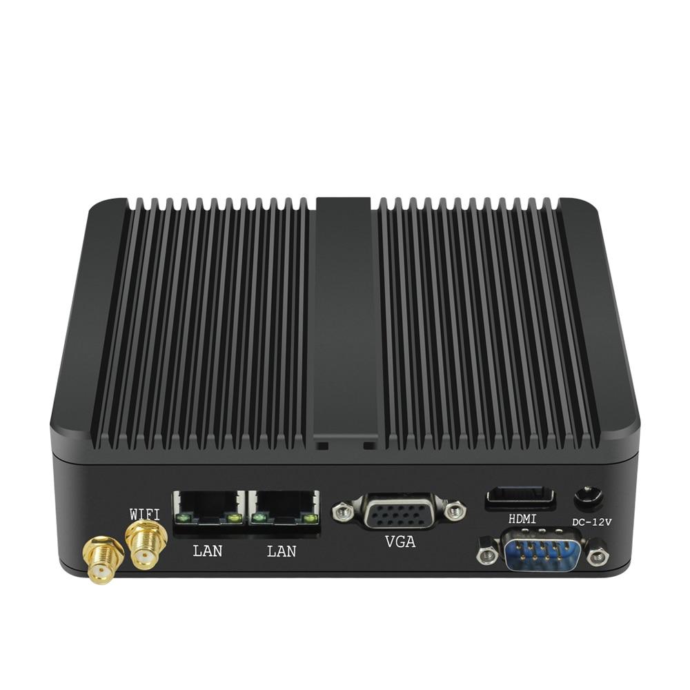 Image 3 - OLOEY Fanless Mini PC Intel Celeron J1900 Windows 10 300Mbps WiFi Dual Gigabit Ethernet 2*RS232 Serial Port HDMI VGA 4*USB-in Mini PC from Computer & Office