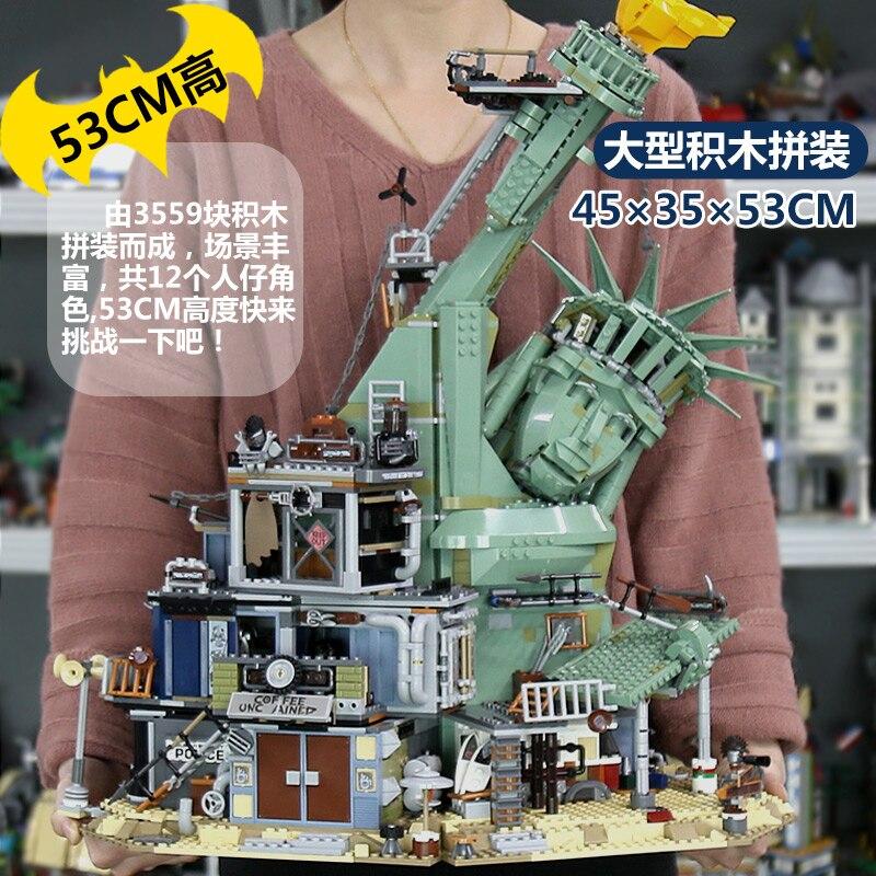 DHL 45014 série de jouets de film le 70840 bienvenue à APOCALYPSEBURG Set blocs de construction briques enfants jouets anniversaire cadeau de noël