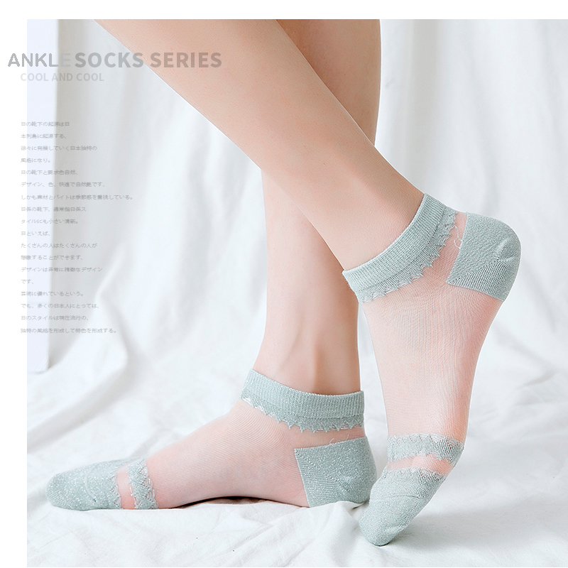 Ankle Woman   Socks   Fashion Women   Socks   Summer Short 1 Pair Girls Thin   Sock   Anklets