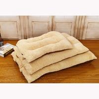 Pet Dog Sofa Super Soft Camel Coffee Detachable And Washable Lamb Cat Bed Dog Cushion Dog