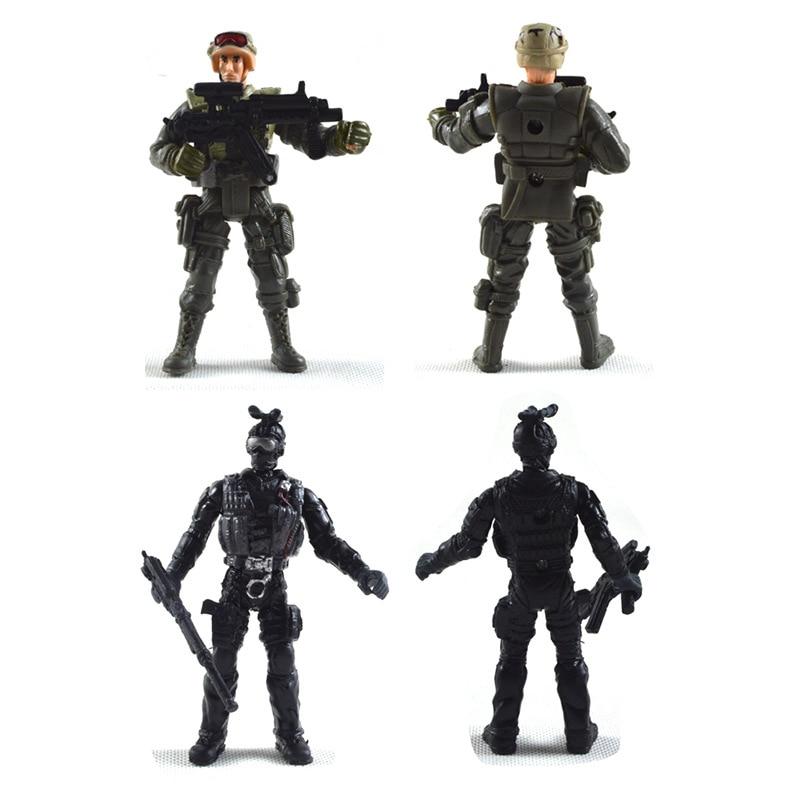 SWAT հրամանի մինի թվեր Գործողություն - Խաղային արձանիկներ - Լուսանկար 2
