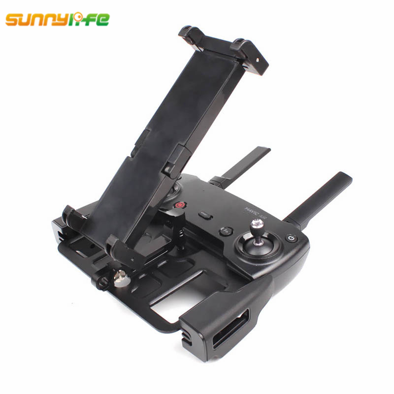 Sunnylife DJI Mavic Air DJI Spark Remote Controller Holder Monitor Mount Phone Tablet Bracket Metal for Mavic Pro Accessories ...