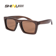 Comercio al por mayor De Madera de Bambú de Madera gafas de Sol Polarizadas Baratas Gafas de Sol Fresco de Playa gafas de Sol de La Vendimia de Conducción Gafas gafas De Sol