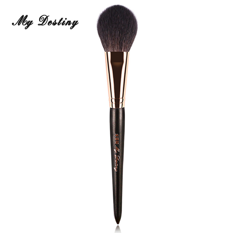 MY DESTINY Goat Hair Round Blush Brush for Blusher Make Up Makeup Brushes Pincel Maquiagem Brochas Maquillaje Pinceaux 017