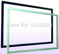 Narrow and slim design 55 inch LCD touch screen, 10 points IR touch screen overlay kit