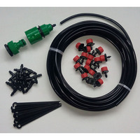 New 30 Pcs DIY Micro Drip Irrigation System Dripper Auto Plant Watering 25m Garden Hose Plant