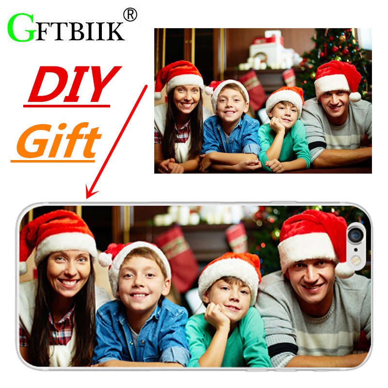 DIY Christmas Gift Design Custom Phone Bag For Elephone P9000 Lite P8000 M2 M 2 Elephone S3 S7 R9 S 7 Case Phone Cover Name