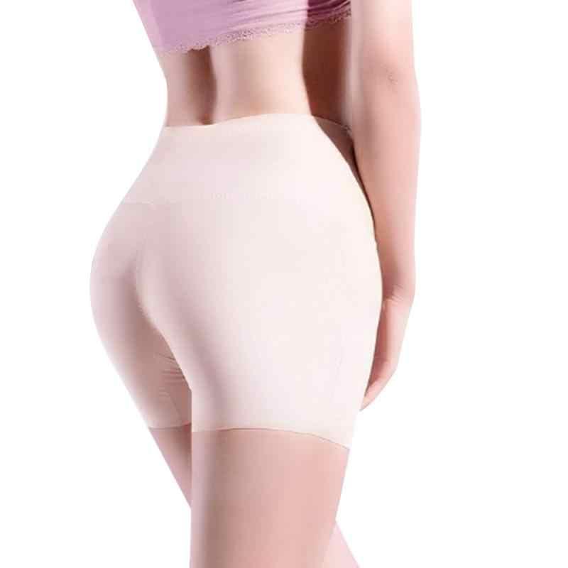 7fa137b472ef ... NEW Women High Waist Safety Short Pants Underwear ladies soft comfort  silk Boxer Briefs Shorts Sexy ...