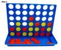 4-in-a-row S tamanho quatro em uma linha de linha de conexão placa de bingo jogo interativo inteligência crianças crianças festa divertida viagem para casa.