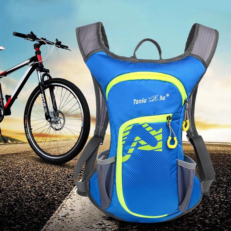 Escalada al aire libre Impermeables Bolsas Mochila Para Bicicleta para Los Hombr