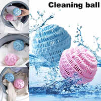 Hot Sale 1 Pcs Laundry Cleaning Ball No Detergent Clothes Washing Machine Wash Wizard Style Random Color @WW