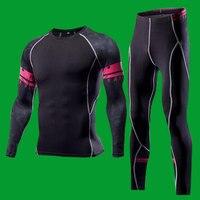 2017 New Winter Men Thermal Underwear Sets Elastic Warm Fleece Long Johns For Men Polartec Breathable
