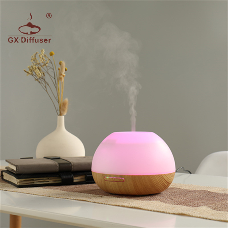 GX.Diffuser 300ML Aroma Diffuser Newest Model Air Humidifier Home Use Essential Oil Ultrasonic For Aromatherapy Aroma Diffuser