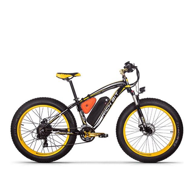 Рихбит RT-012 плюс шина электронного велосипеда 21 скорости 48 в 1000 Вт 17Ah литиевая батарея мощный электрический велосипед с компьютерным спидометром
