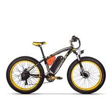 RichBit RT 012 Più Grasso Pneumatico ebike 21 velocità di 48V 1000W Batteria Al Litio 17Ah potente Bicicletta Elettrica Con Il Computer tachimetro