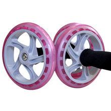 Health Abdominal Exercise Wheel Fitness Equipment Household Multi Functional Two Roller fitness Push Ups–SFA006 PR49
