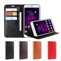 ICoverCase Genuine Leather Flip Cover For Huawei Honor 8 Pro Luxury Wallet Case For Huawei Honor