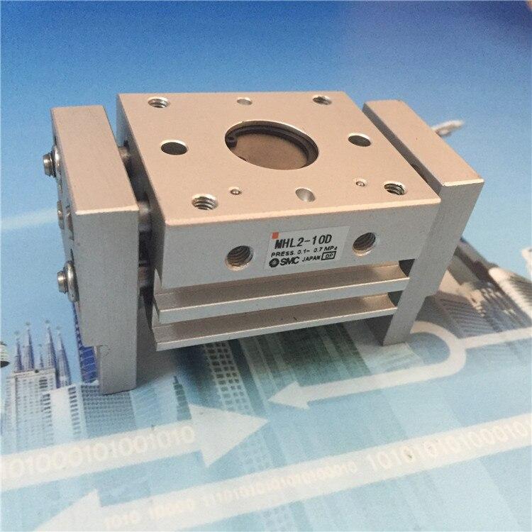 ФОТО SMC  cylinder MHL2-10D MHL2-10D-X1628  MHL2-10D1  MHL2-10D2  parallel style air gripper  wide type  MHL  series