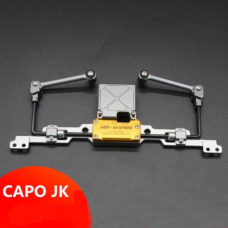 1Set Capo JK MAX RC Car Remote Locking Sway Bar Metal Rear Axle Anti Roll Bar for RC 4WD Rock Crawler Climbing Car Upgrade Parts бутсы зальные joma joma jo001amxjo33