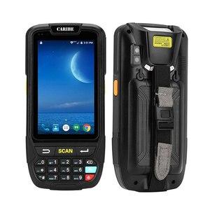 Image 3 - Caribe scanner de codes barres PL 40L, grand écran, 1d, bluetooth, android, avec pda, tablette sans fil