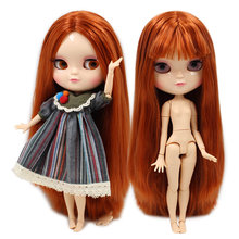 ICY DBS DOLL small breast azone joint body BL232 red brown hair 30cm(China)