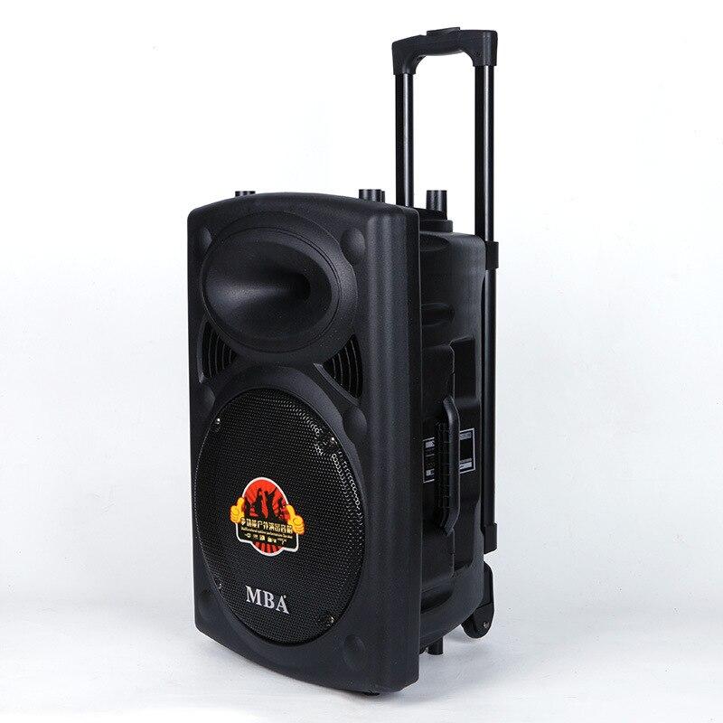 Barre de traction type 12 pouces batterie stéréo bluetooth haut-parleurs sans fil