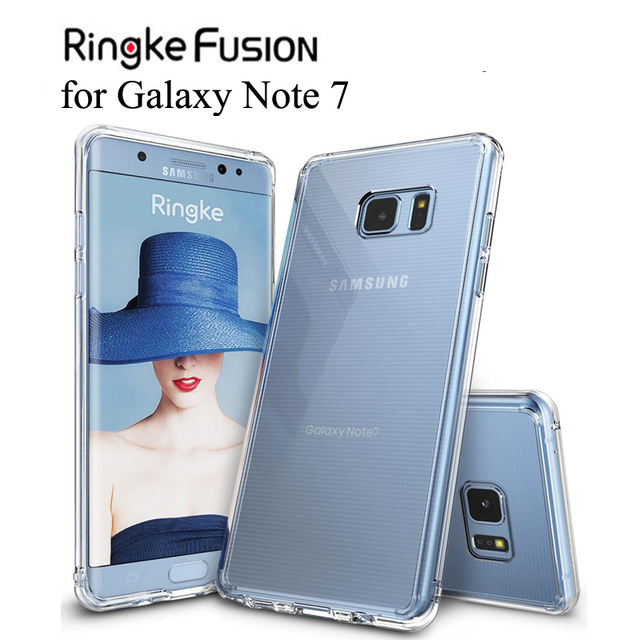 low cost 975cd 514a1 US $8.91 10% OFF|Ringke Fusion for Galaxy Note 7 Case Flexible Tpu and  Clear Hard Back Cover Hybrid Note FE Case for Galaxy Note Fan Edition-in  Fitted ...