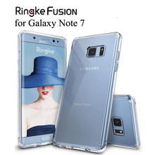 Ringke Fusion per il Galaxy Note 7 Caso di Tpu Flessibile e Trasparente Posteriore Dura di Caso Della Copertura Hybrid Nota FE per la Galassia nota Fan Edizione