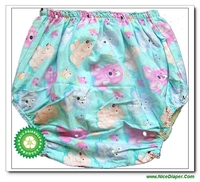 Free Shipping FUUBUU2209 Adult Diapers Nappies Old Pattern With Cute Cartoon Shorts And Comfortable
