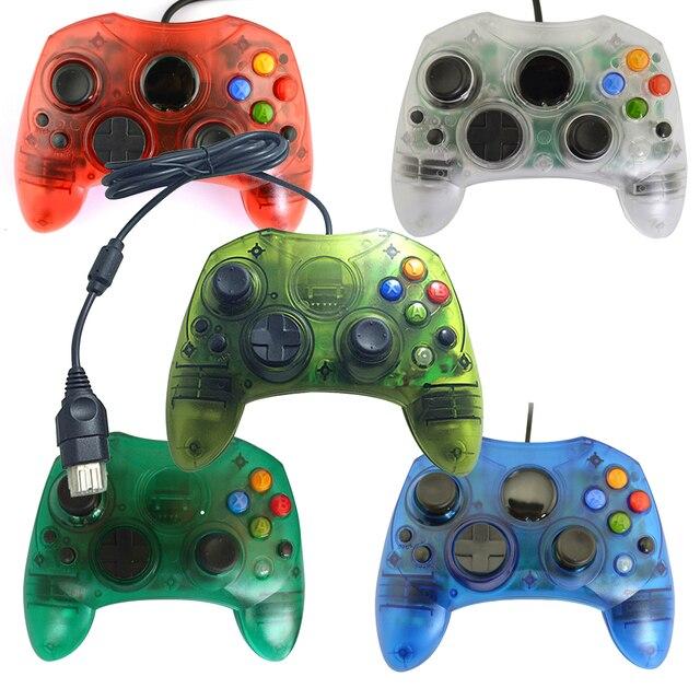 Xunbeifang شفافة السلكية غمبد عصا التحكم أذرع التحكم في ألعاب الفيديو لأجهزة إكس بوكس