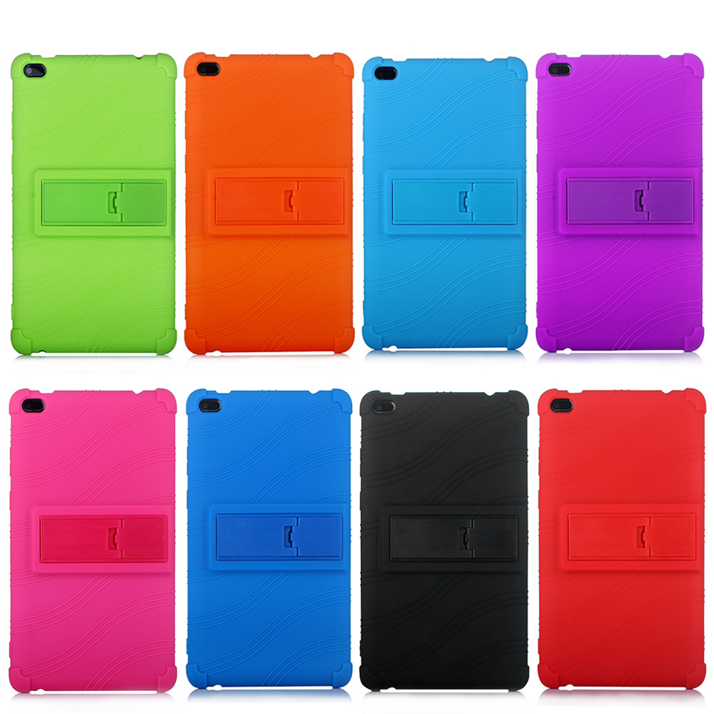 Soft Silicon + Hard Plastic Kickstand Cover Case For Lenovo Tab E8 TB-8304F1 Soft Back Cover For Lenovo Tab E8 Case Fundas