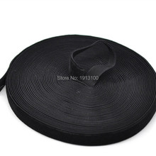 25 Yards Black Velvet Ribbon 3/4 Single Face High Quality DIY Crafts Sewing Appliques Findings