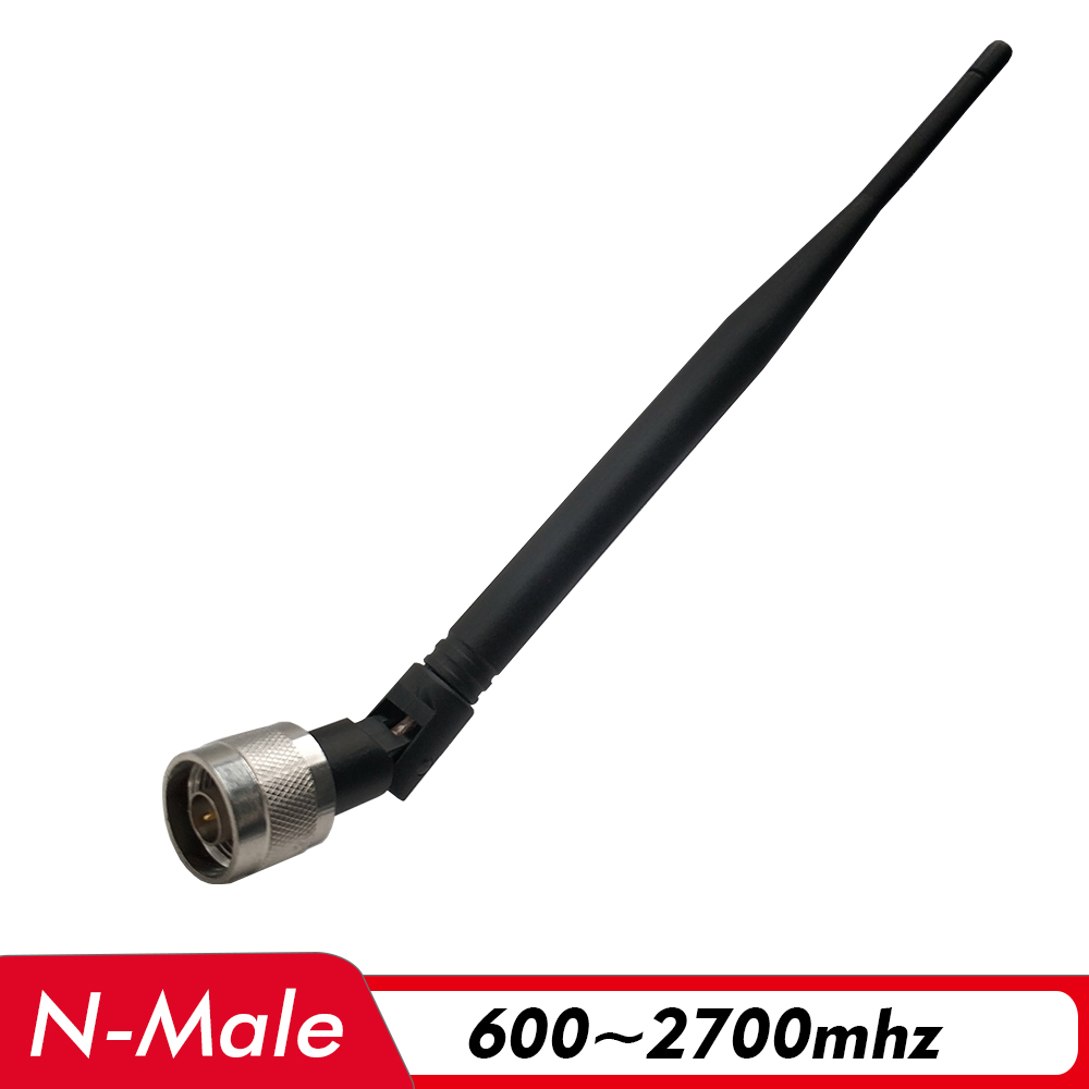 600~2700MHz Indoor Whip Antenna N Male Connector 3dBi Internal Antenna For 2G 3G 4G Signal Amplifier Cell Phone Signal Repeater