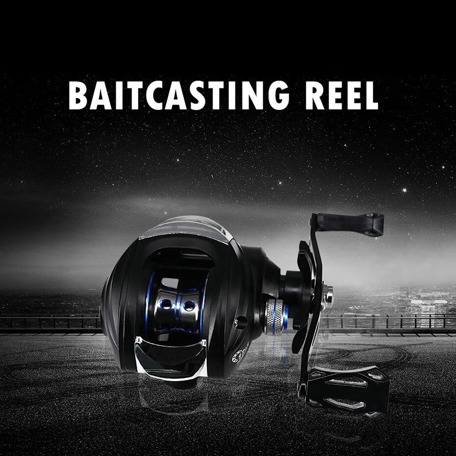 bobinas baitcasting fishing reel com sistema de 04