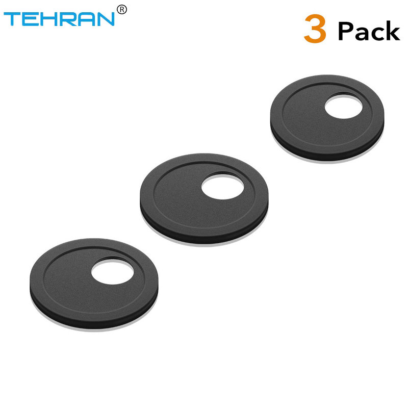 3 Pack Webcam Cover Circular Ultra Thin - Plastic Cover Shutter Magnet Slider Plastic Camera Cover for PC Laptops Smartphones image