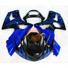 For KAWASAKI ZX-6R 2003 2004 (3) Injection Mold ABS Racing Bodywork Fairing [CK706]