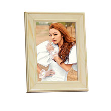 Europe Style Solid Wood Photo Frame Desktop or Hanging Wooden Picture Frame WP016(China)