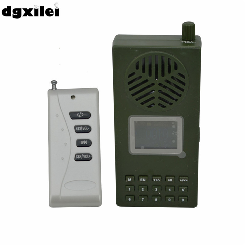 все цены на Electronics LCD Portable Hunting Decoy MP3 Bird Caller Sound Player Digital Hunting Equipment Bird Caller онлайн