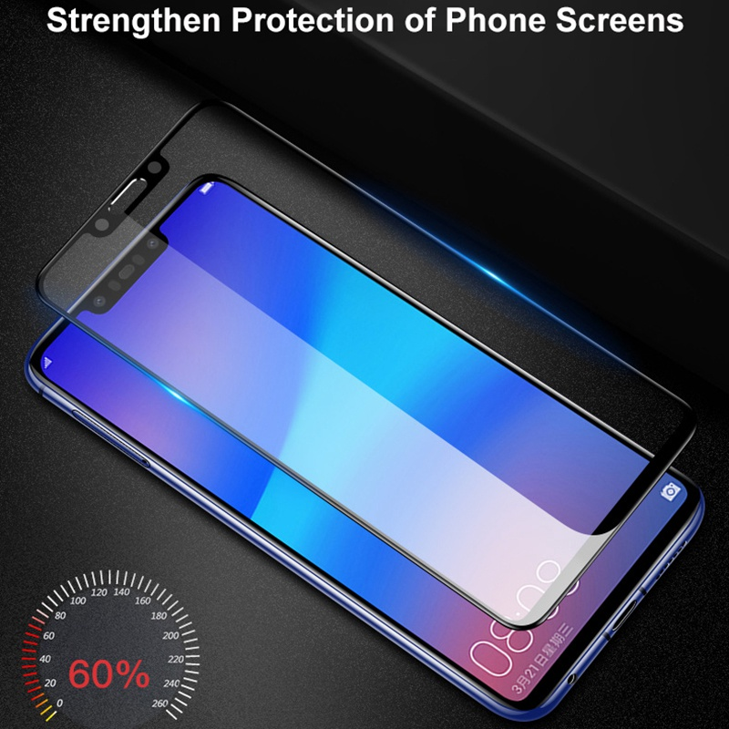Image 3 - Aveuri 3D Protective Glass For Huawei Nova 3 3i 2 2i Full Cover Tempered Glass For Huawei Nova 4 P Smart Plus Screen Protector-in Phone Screen Protectors from Cellphones & Telecommunications
