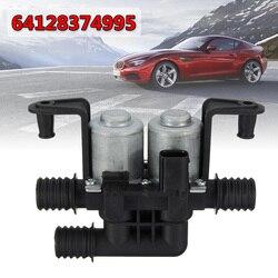 Riscaldatore di acqua Valvole di Controllo Dual Solenoide 64128374995 64-12-8-372-016 per BMW 5 Serie e38 E39 E46 E53 X5