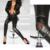 2017 Moda Sexy Nuevo Fresco Clásico de Las Mujeres Flacas Delgadas Fit Zip Sexy Faux Negro Leggings Pantalones de Cuero Nueva