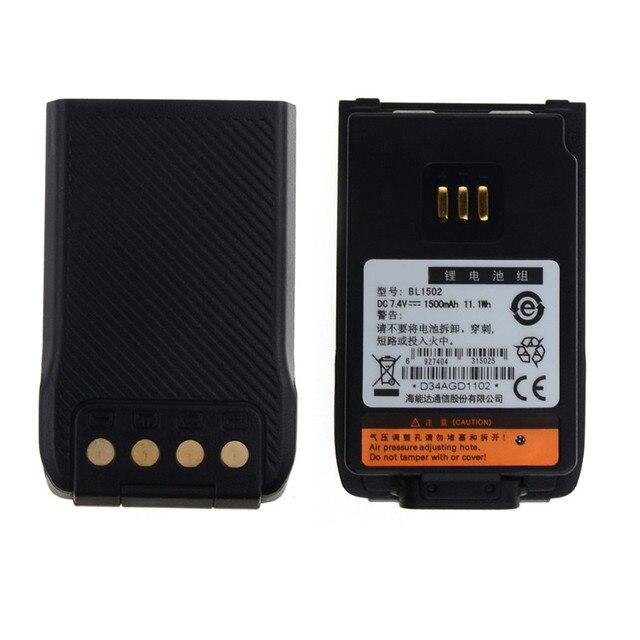 BL1502 DC 7.4 В 1500 мАч Литий-Ионный Аккумулятор для HYT Hytera PD56X PD50X PD60X PD66X PD68X S0C66 T18 0.15