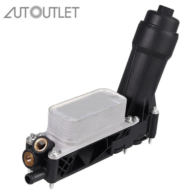 Sortie automatique sans capteur 5184294AE 5184294AD 5184294AC adapté au boîtier de filtre de refroidisseur d'huile moteur Dodge Jeep Chrysler