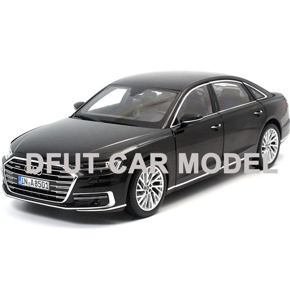 Scale 1:18 A8L W12 2017 Model Diecast Metal Alloy Car Model Toy Gift For Collection With Free Shipping